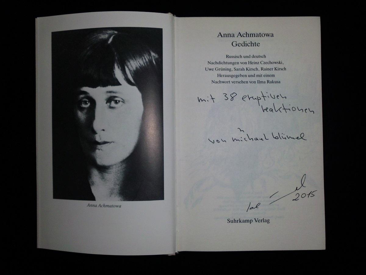Achmatowa Michael Blümel